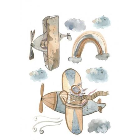 Immagine di Pick Art Design® Adesivi da parete Fly Me To the Moon