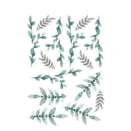 Immagine di Pick Art Design® Adesivi da parete Foglie Verdi