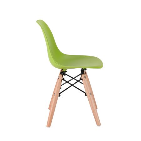 EM Eiffel sedia per bambini Green