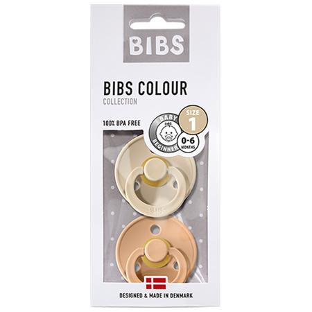 Bibs® Ciuccio Vanilla & Peach (0-6m)