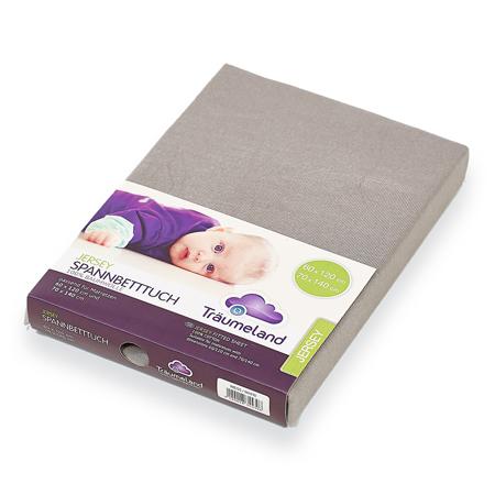 Träumeland® Lenzuola Anthracite  per il letto 60x120 o 70x140