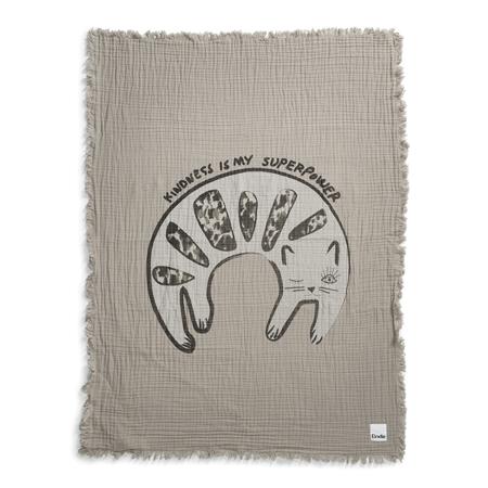 Immagine di Elodie Details® Coperta morbida in cotone Kindness Cat