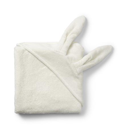 Immagine di Elodie Details® Asciugamano con cappuccio Vanilla White Bunny