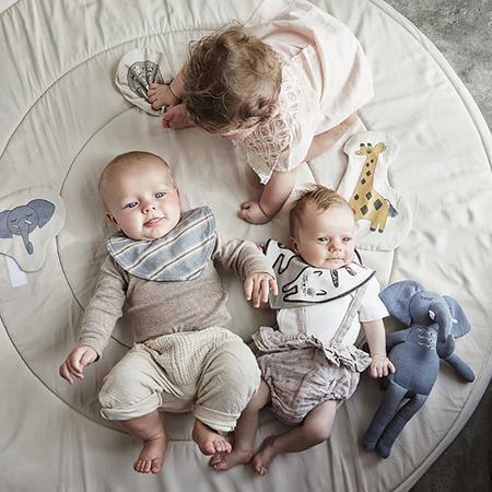 Immagine di Elodie Details® Bavaglino a Bandana cotone Sandy Stripe