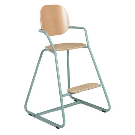Immagine di Charlie Crane® Visok stolček za hranjenje TIBU Tod Blue