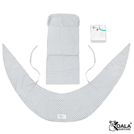 Immagine di Koala Babycare® Federa per cuscino gravidanza Hug Comfy Grey +