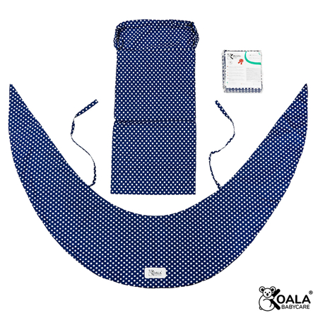 Immagine di Koala Babycare® Federa per cuscino gravidanza Hug Comfy Blue +