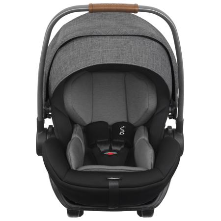 Immagine di Nuna® Seggiolino auto Arra™ i-Size 157° con base  IsoFix 0+ (0-13 kg) Charcoal