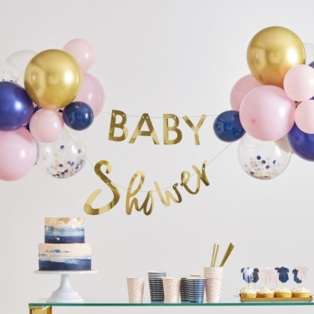 Immagine di Ginger Ray®  Ghirlanda  Baby Shower con palloncini
