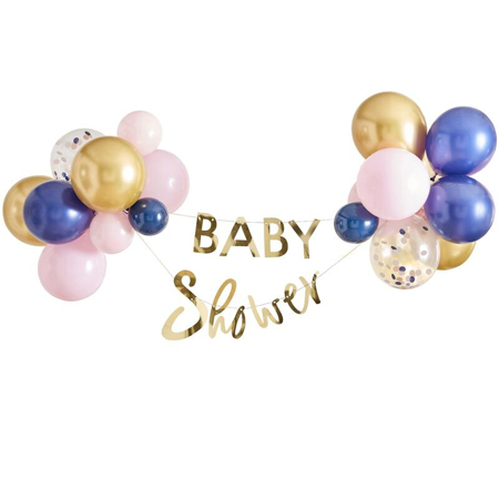 Immagine di Ginger Ray® Viseč napis z baloni Baby Shower