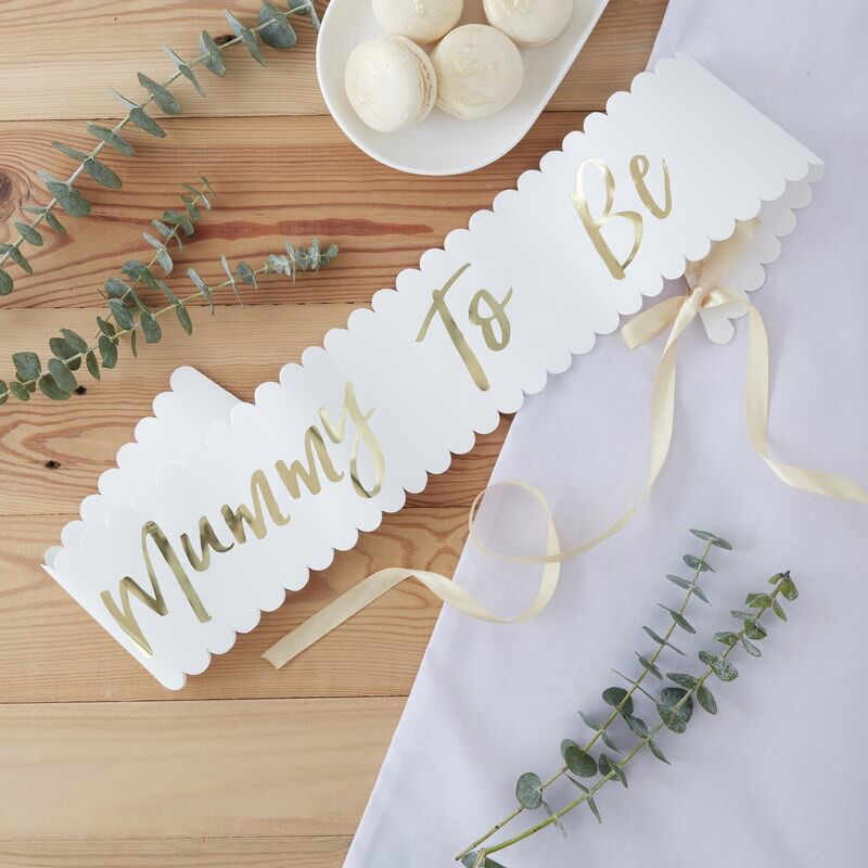 Immagine di Ginger Ray®  Cintura nastro Mother to Be Oh Baby!