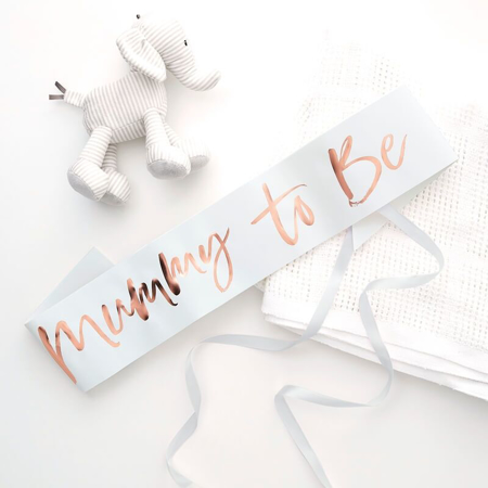 Immagine di Ginger Ray® Cintura nastro Mummy to Be Twinkle Twinkle