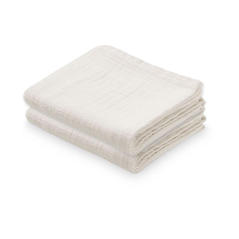 Immagine di CamCam® Set di pannolini tetra Creme White 70x70