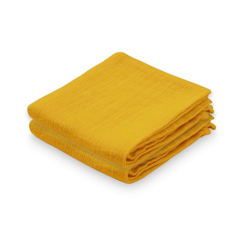 Immagine di CamCam® Set di pannolini tetra Mustard 70x70