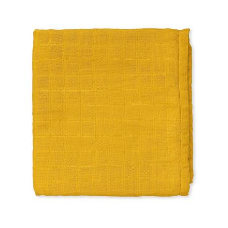CamCam® Set di pannolini tetra Mustard 70x70
