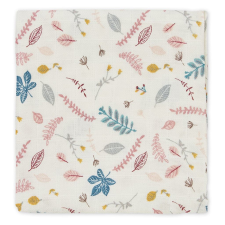 Immagine di CamCam® Set di pannolini tetra Pressed Leaves Rose 70x70