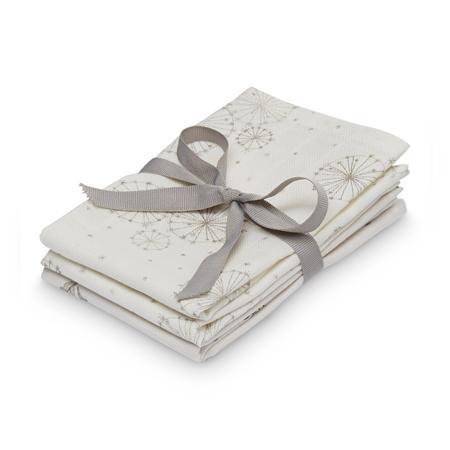 Immagine di CamCam® Set di pannolini tetra Mix Dandelion Natural, Fawn 30x30 4 pezzi