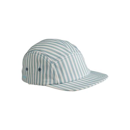Immagine di Liewood® Rory cappellino con visiera Sea Blue/White 1-2