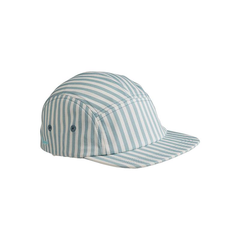 Immagine di Liewood® Rory cappellino con visiera Sea Blue/White 3-4
