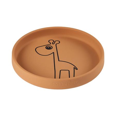 Immagine di Done by Deer® Piatto in silicole  Raffi Mustard