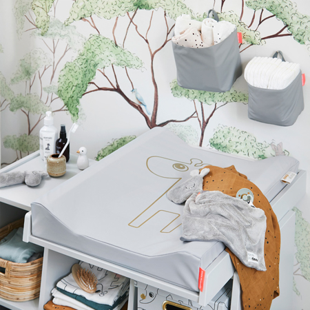 Immagine di Done by Deer®  Organizer da muro Small Grey