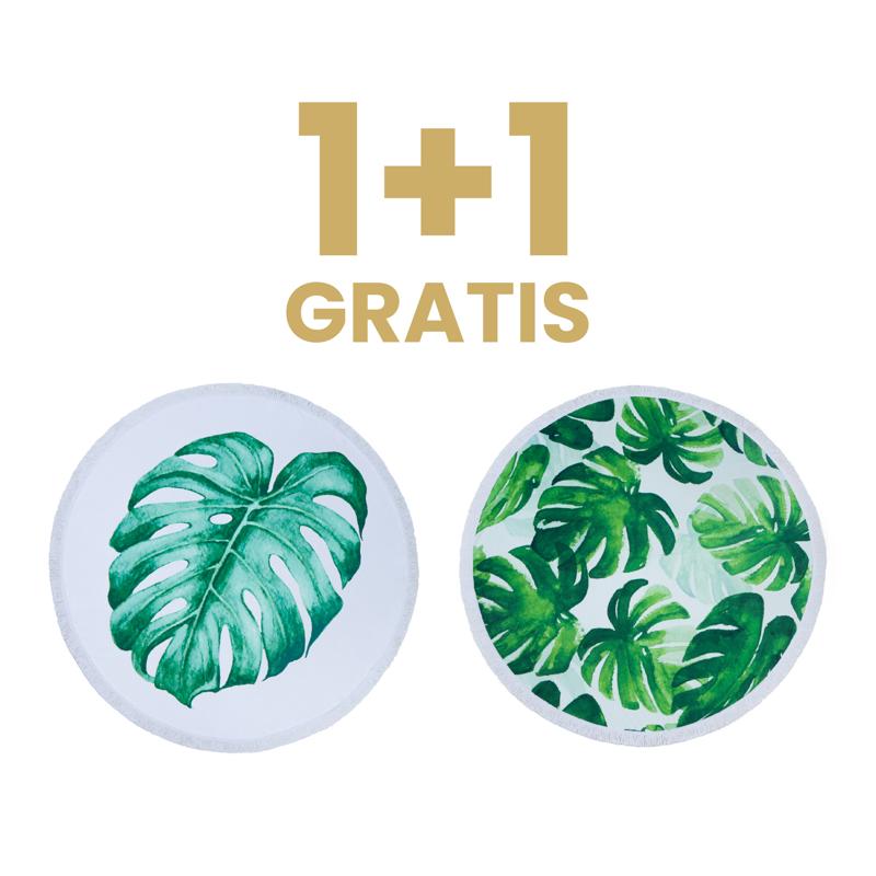 Immagine di Olala® 1+1 GRATIS Asciugamano Cleopatra's Leaf & The Green Ocean