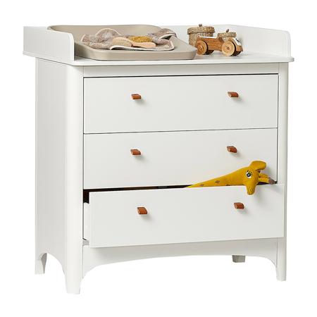 Leander® Fasciatoio per cassettiera Classic White