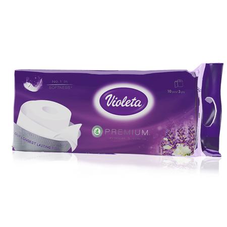 Immagine di Violeta® Carta igienica Premium Lavanda 10/1 3SL