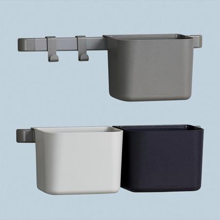 Leander® Organizzatore 3 pz e cremagliera corta 2 pz Dusty Grey