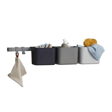 Immagine di Leander® Organizzatore 3 pz e cremagliera lunga 1pz Dusty Grey