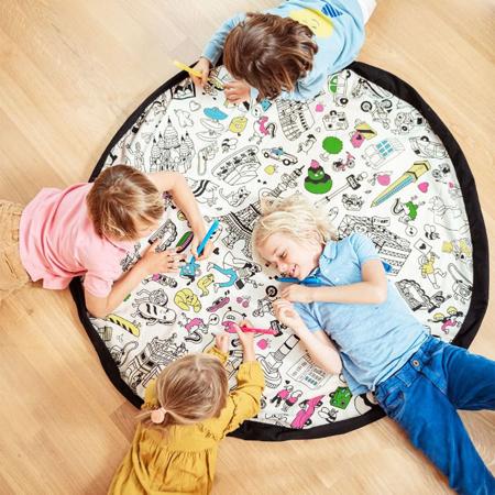Immagine di Play&Go® Sacco Portagiochi e Tappeto Paris