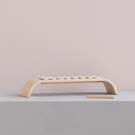 Immagine di Kids Concept® Xilofono in legno White
