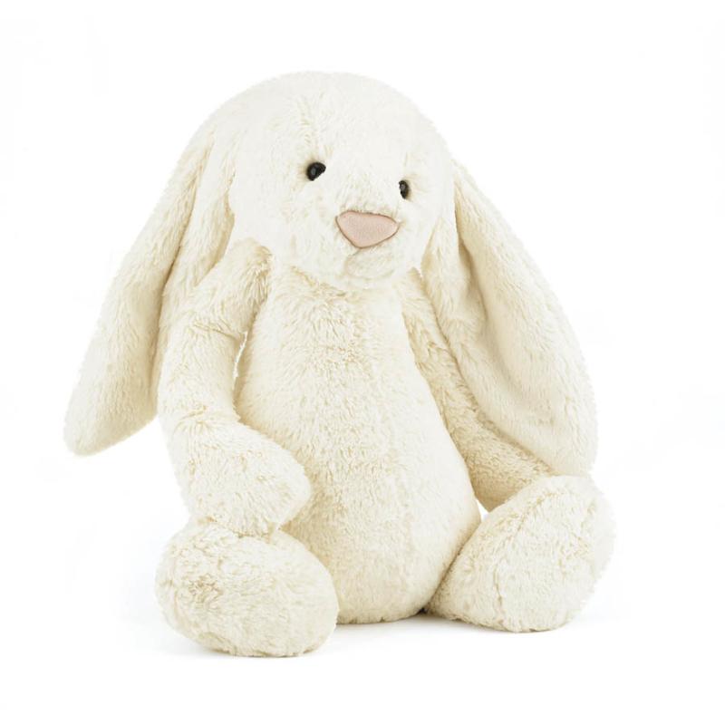 Immagine di Jellycat® Peluche coniglio Bashful Cream Huge 51cm