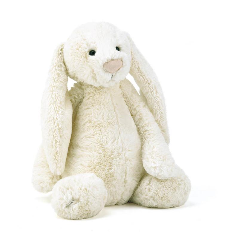 Immagine di Jellycat® Peluche coniglio Bashful Cream Large 36cm