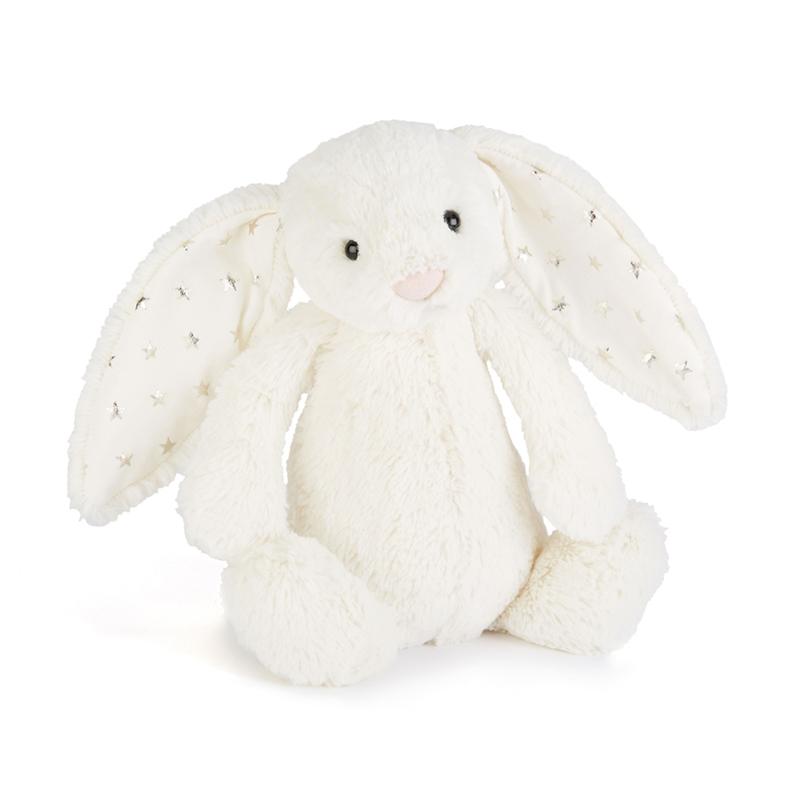 Immagine di Jellycat® Peluche coniglio Bashful Twinkle Medium 31cm