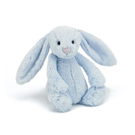 Jellycat® Peluche coniglio Bashful Blue Medium 31cm