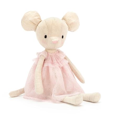 Jellycat® Peluche Jolie Mouse 30cm