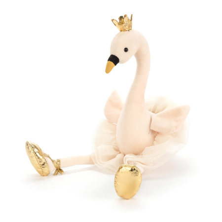 Immagine di Jellycat® Peluche Fancy Swan Medium 34cm