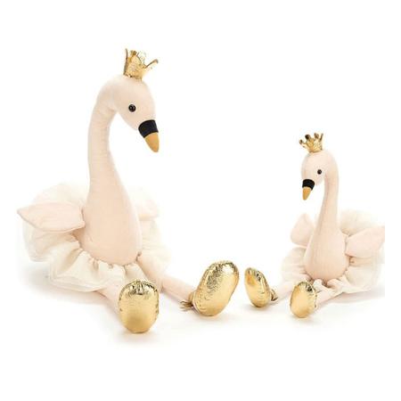Jellycat® Peluche Fancy Swan Medium 34cm