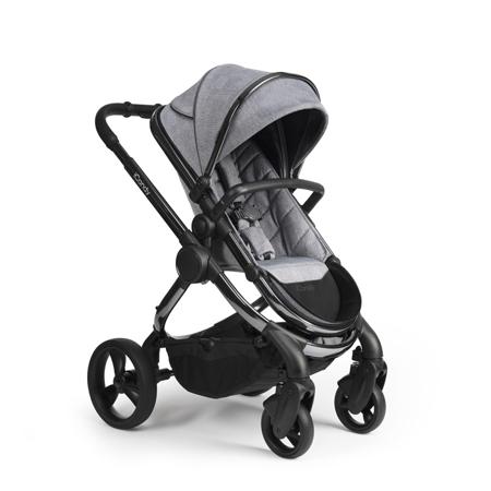 Immagine di iCandy® Passeggino  2v1 Peach con il telaio nero Phantom Light Grey Check Combo
