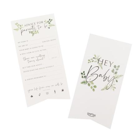 Ginger Ray® Biglietti  consigli Botanical 10 pezzi