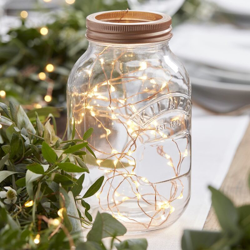 Immagine di Ginger Ray® Luci a LED cordoncino Rose Gold 3m