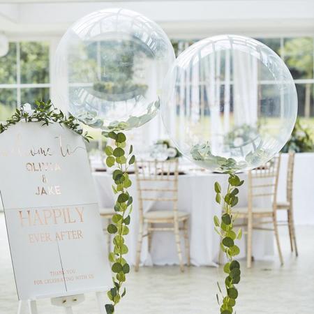 Immagine di Ginger Ray® Palloncino grande con la decorazione  Botanical