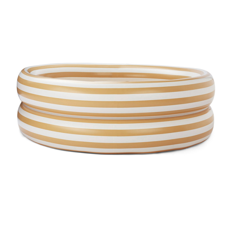 Liewood® Piscina per bambini Leonore Stripe Yellow Mellow/Creme