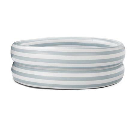 Liewood® Piscina per bambini Leonore Stripe Sea Blue/Creme