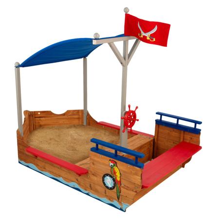 Immagine di KidKratft® Sabbiera Galeone dei Pirati