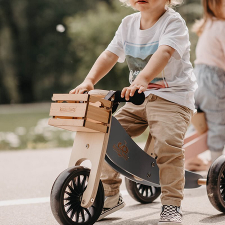 Kinderfeets® Container di legno per bici senza pedali