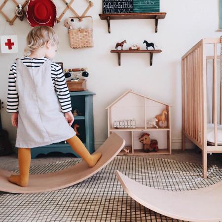Immagine di Kinderfeets® Kinderboard Montessori Rose
