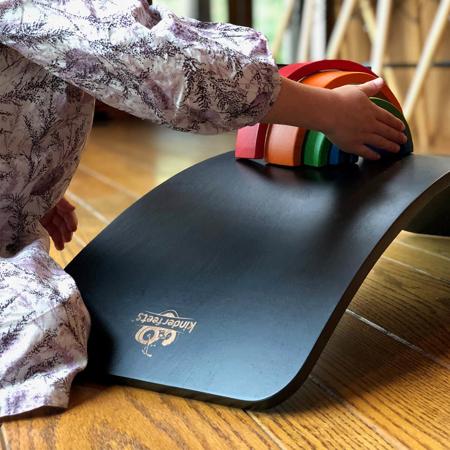 Immagine di Kinderfeets® Kinderboard Montessori Black