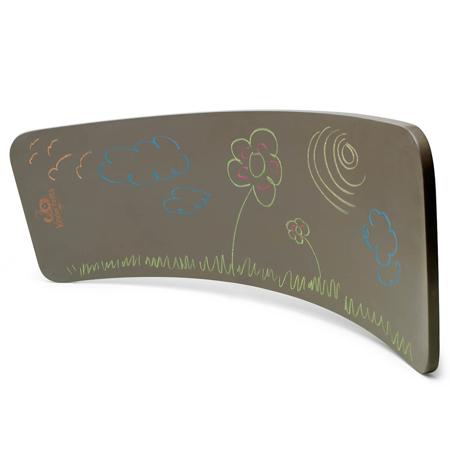 Kinderfeets® Kinderboard Montessori Chalkboard Gray